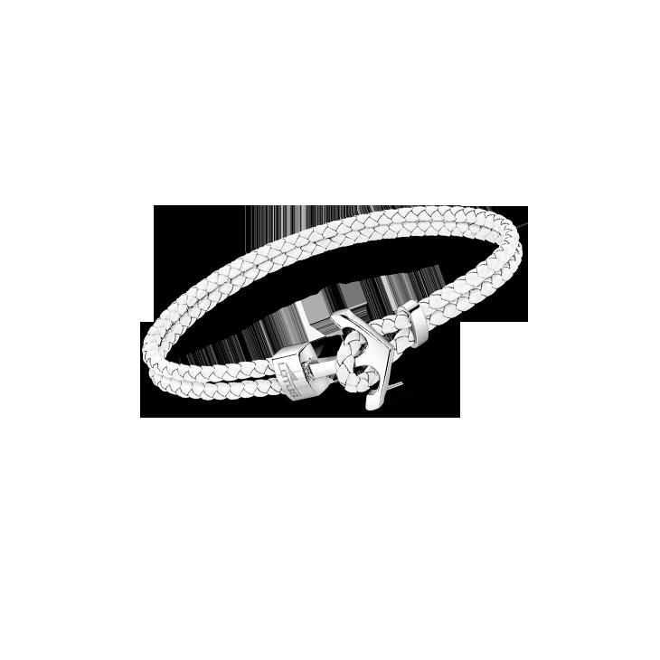 ANCHOR BRACELET LS2075/2/1 White LOTUS Style