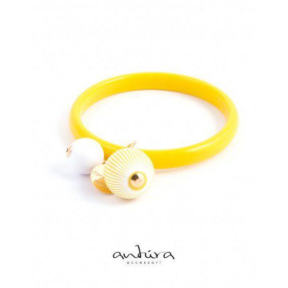 AB96210R RIGID BRACELET Yellow Antùra