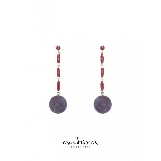 AOJ97912 EARRINGS Red Antùra