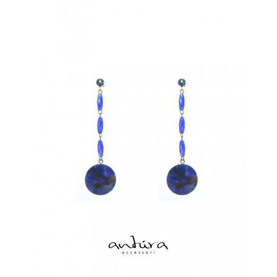 AOJ97912 EARRINGS Blue Antùra