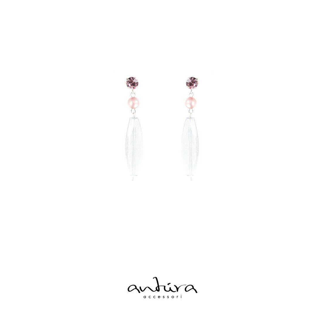 AOD10711 EARRINGS Pink Antùra