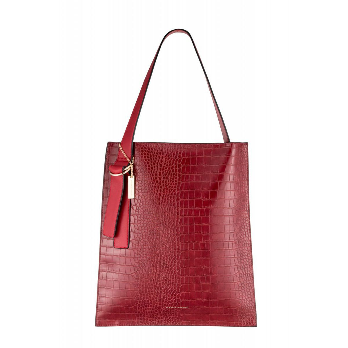 STYLE1184 BAG Red Alessia Massimo