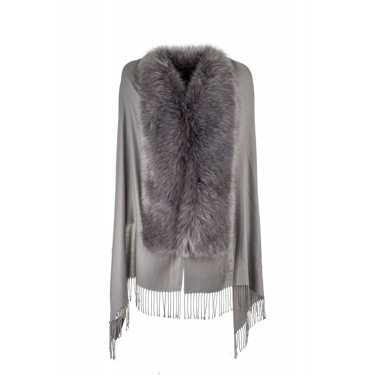 STYLE9004 SCARF Grey Alessia Massimo