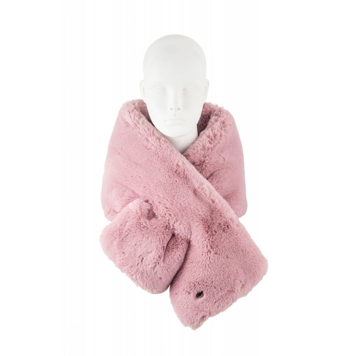 STYLE8915 SCARF Pink Alessia Massimo