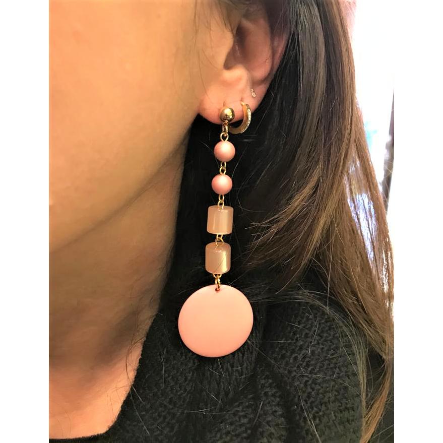 AOD10012 Earrings Pink Antùra