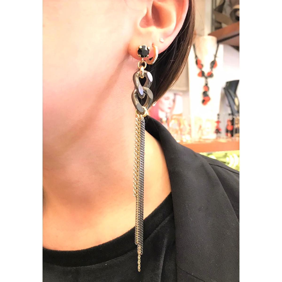 AOX98018 Earrings Black Antùra