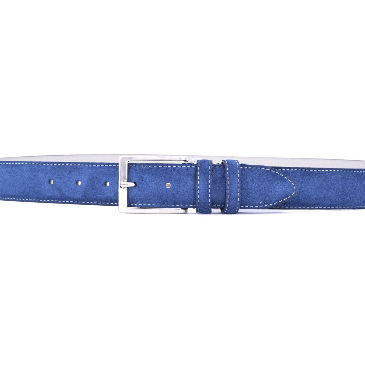 Suede belt 002 Blue M.C.