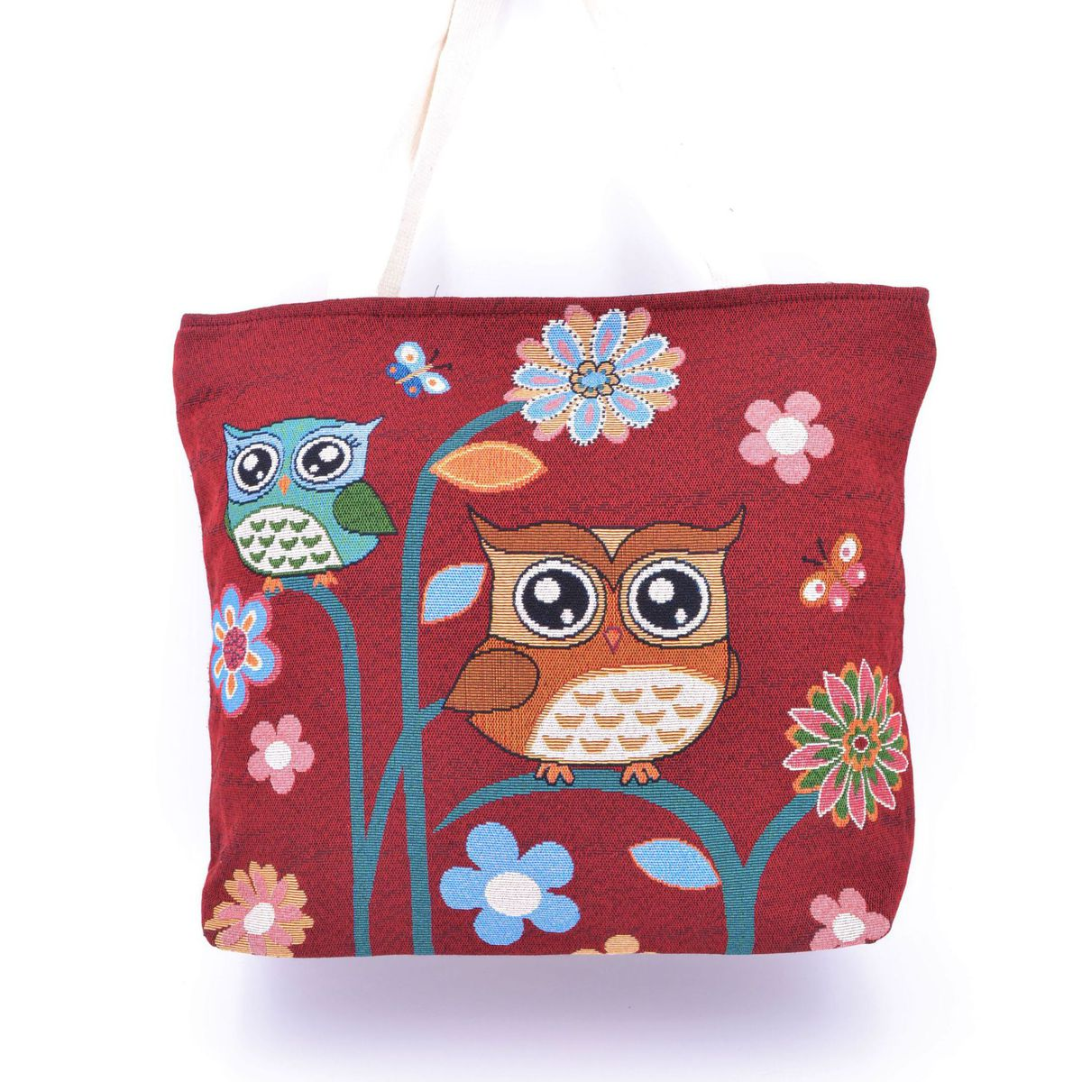 Owls Bag Bordeaux BRASS Workshop