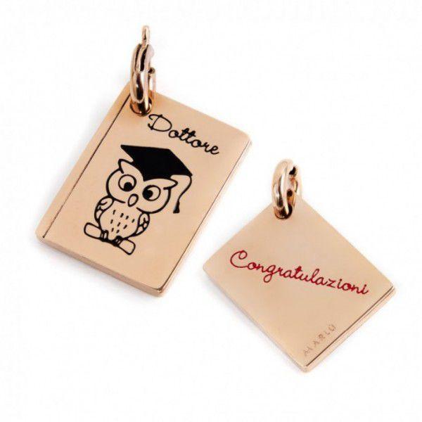 Graduation Charm Rosegold Marlù