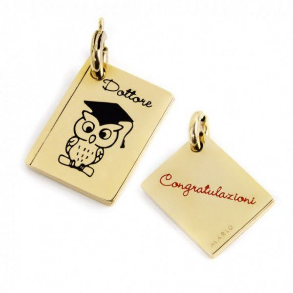Graduation Charm Gold Marlù
