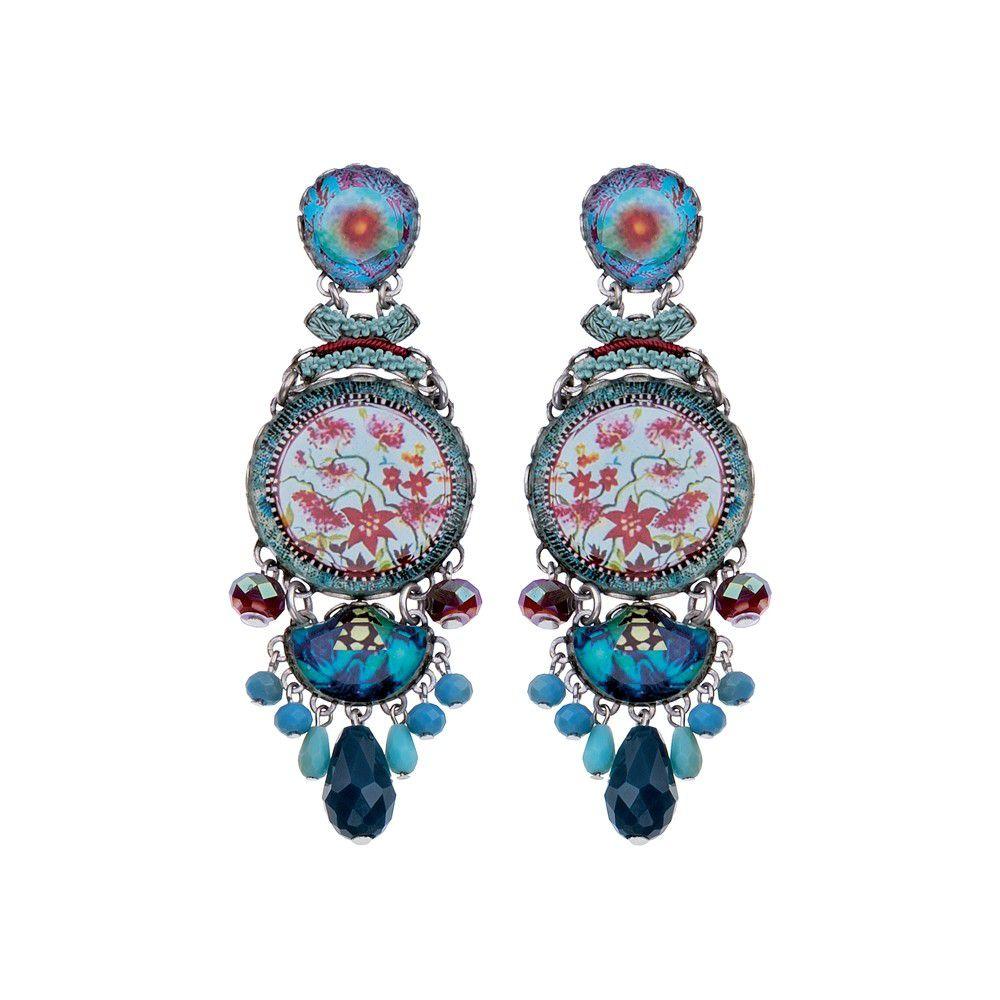 Astral Light, Ivanna Earrings Blue AyalaBar
