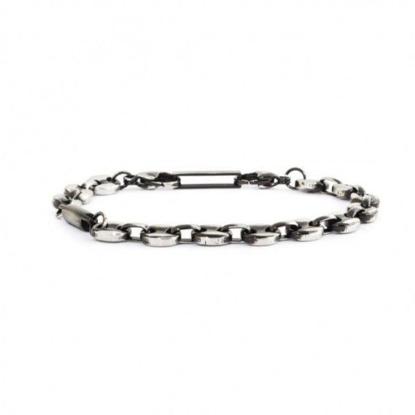 7 mm marine chain Bracelet Burnished Marlù