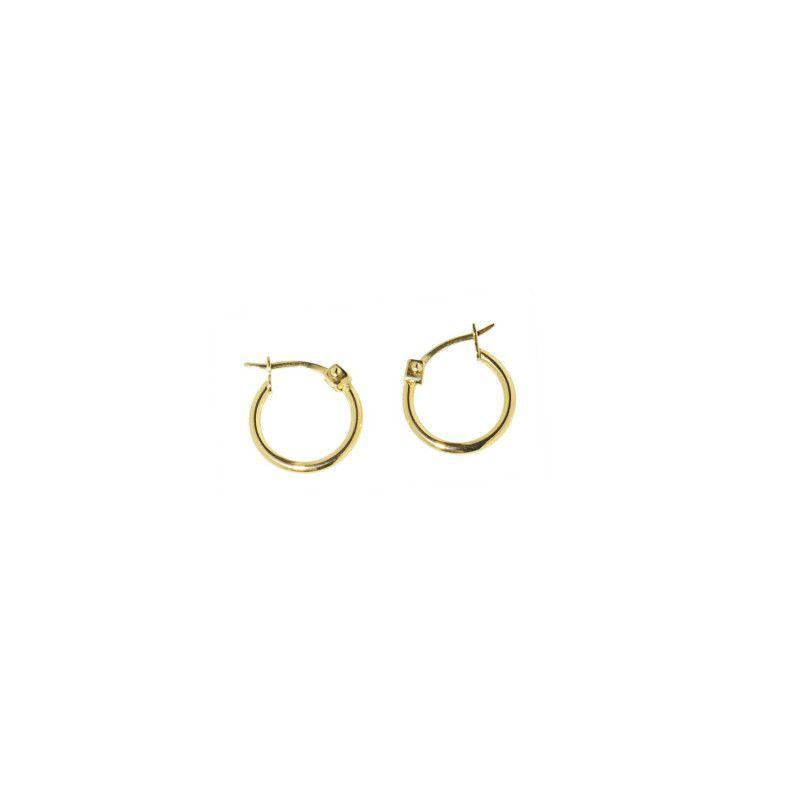 Circle Earrings 1,3 CM Gold Marlù
