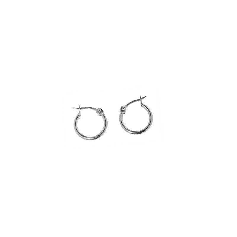 Circle Earrings 1,3 CM Steel Marlù