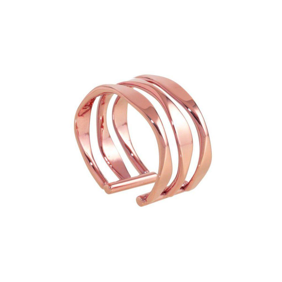 Ring Hoops crushed rosegold Rosegold Marlù
