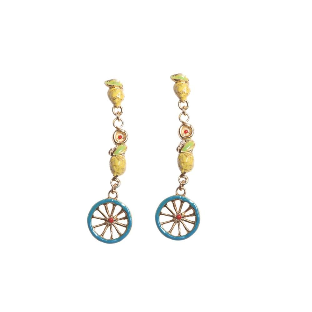 Bittersweet Earrings J-E110 Yellow GIULIANAdiFRANCO