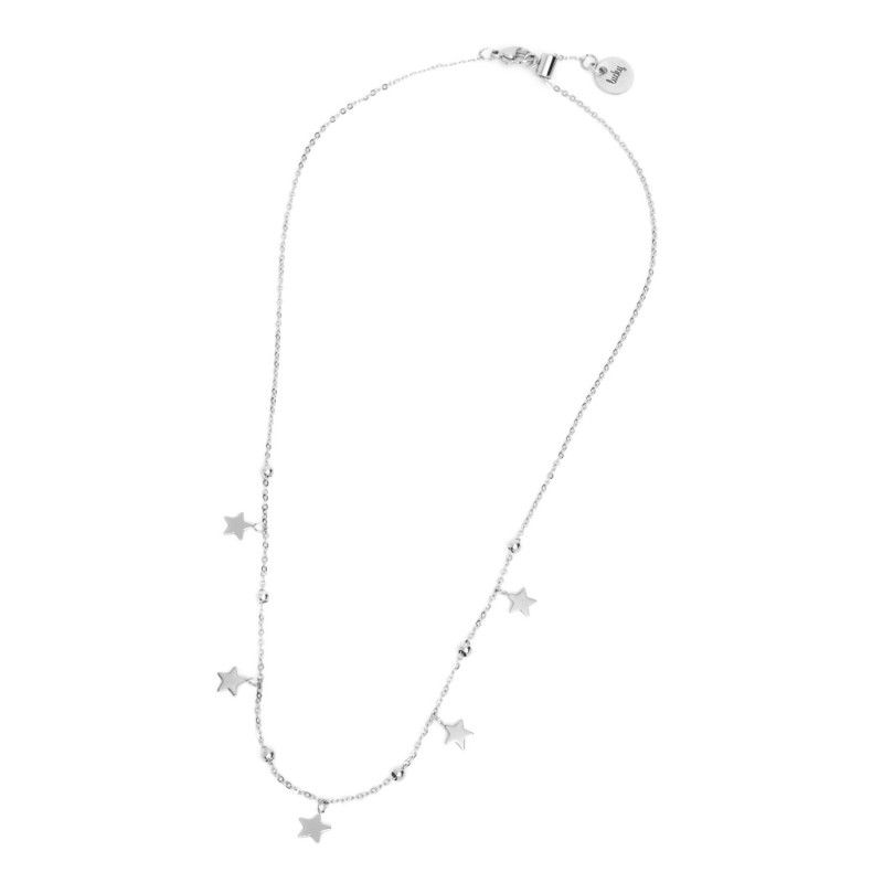 Lucky star Necklace Steel Marlù