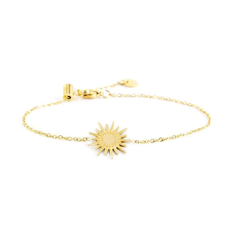 Bracelet with sun 1.5 cm Gold Marlù