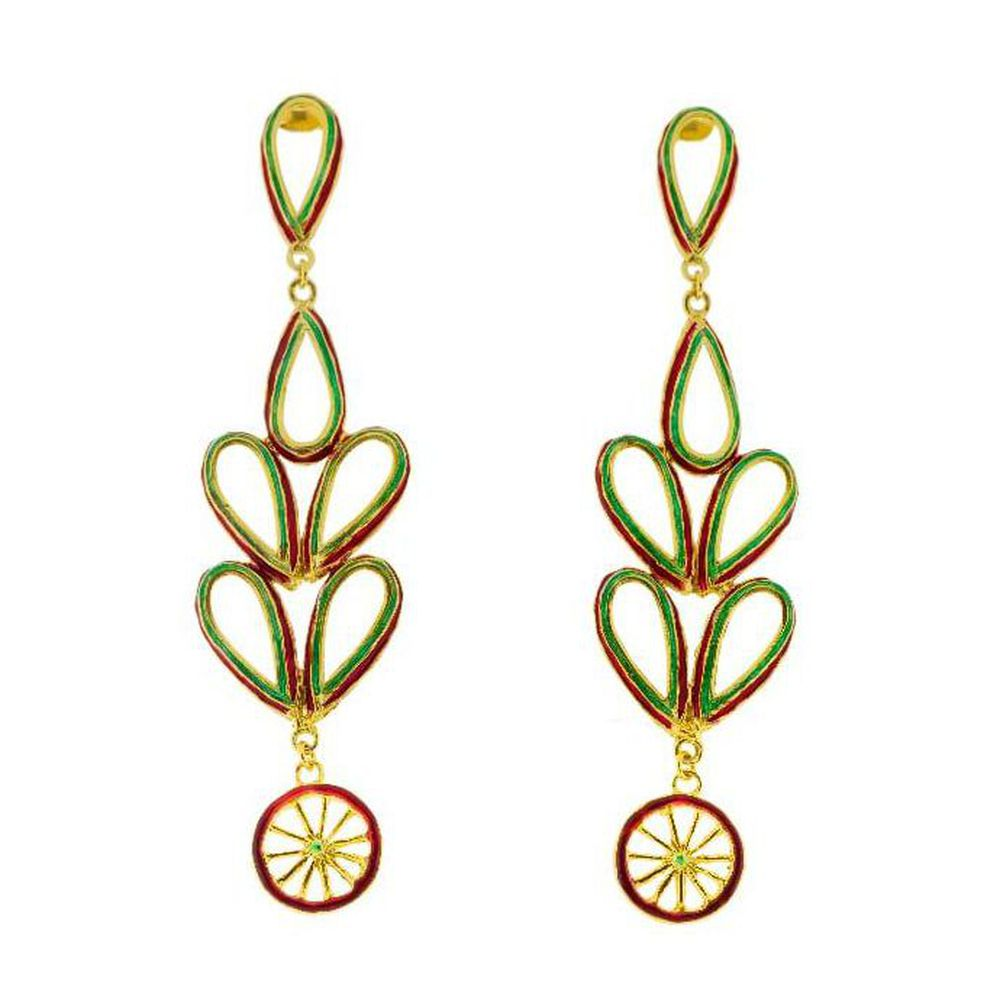 Maduni Pinti Earrings J-E156 Gold GIULIANAdiFRANCO