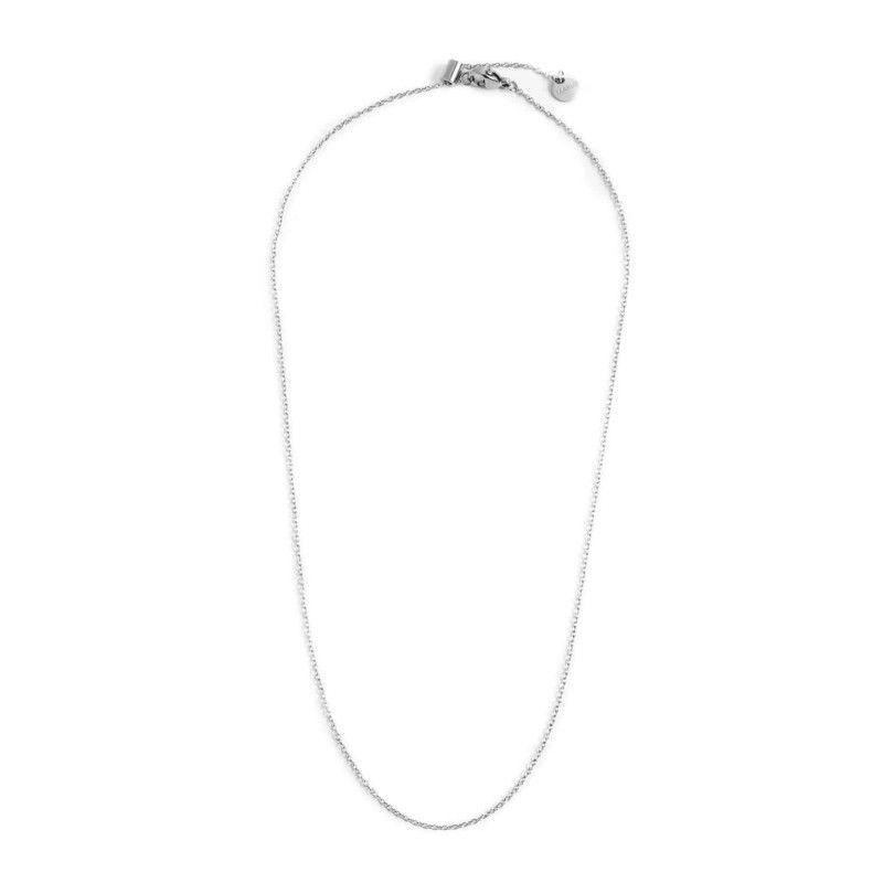 44 cm steel necklace th. 1.2 mm Steel Marlù