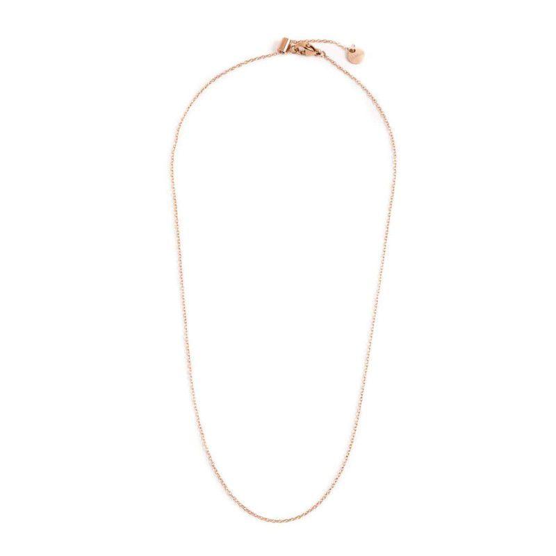 44 cm steel necklace th. 1.2 mm Rosegold Marlù