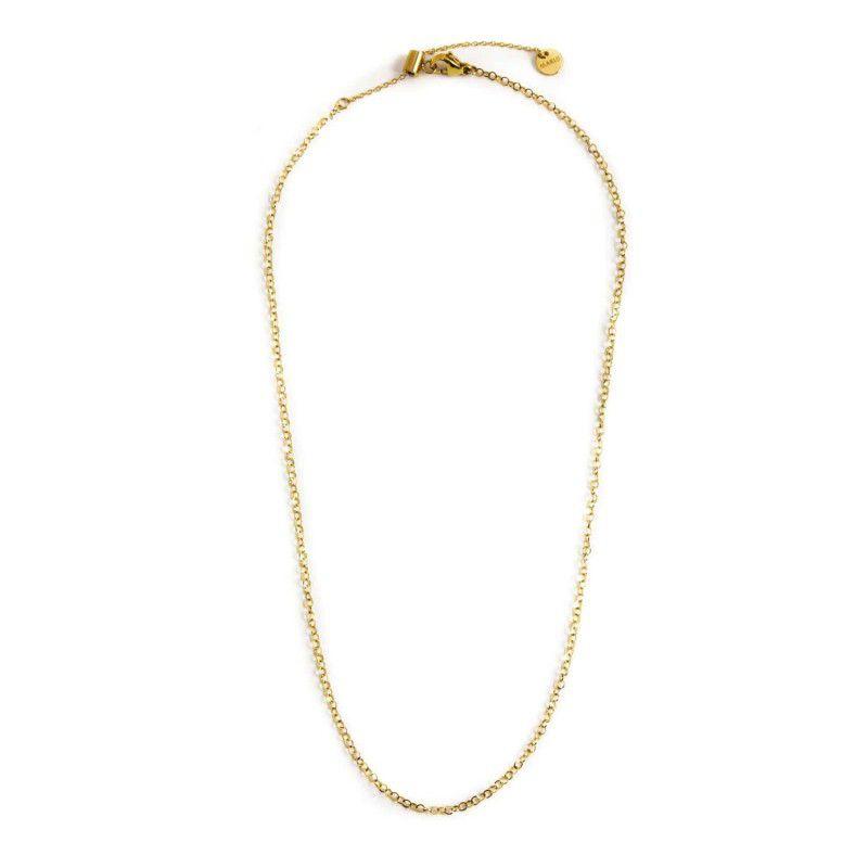 45 cm steel necklace Rosegold Marlù