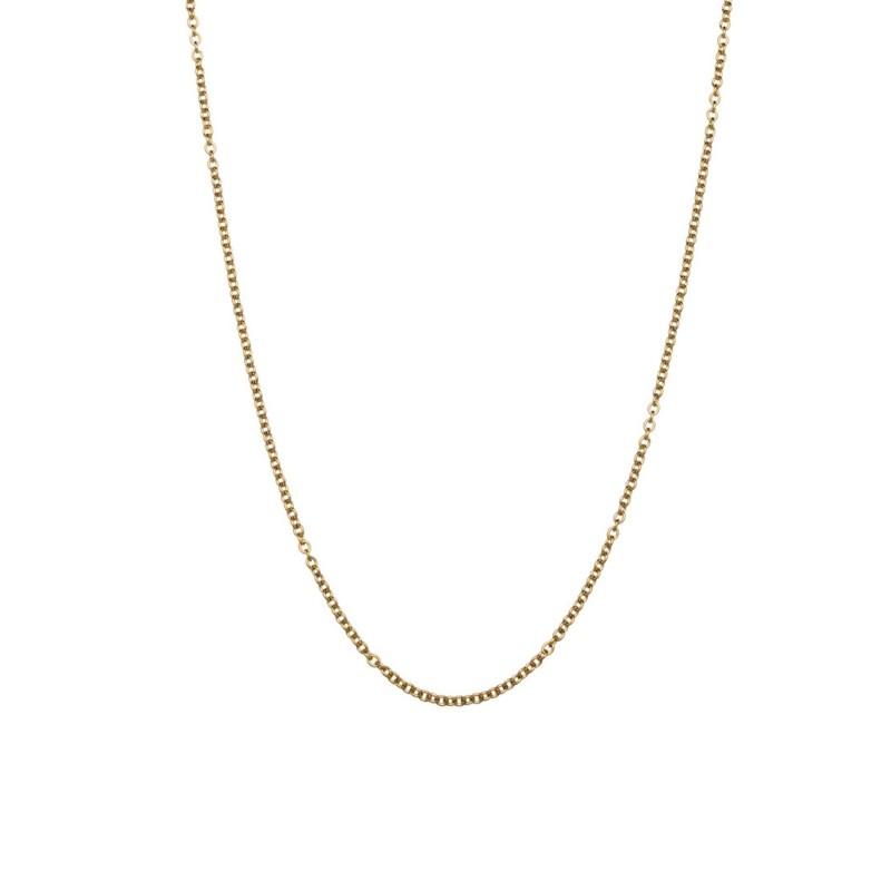 42 cm steel chain necklace Gold Marlù