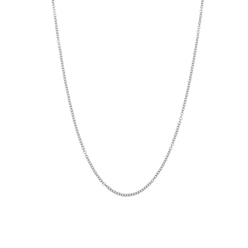42 cm steel chain necklace Steel Marlù