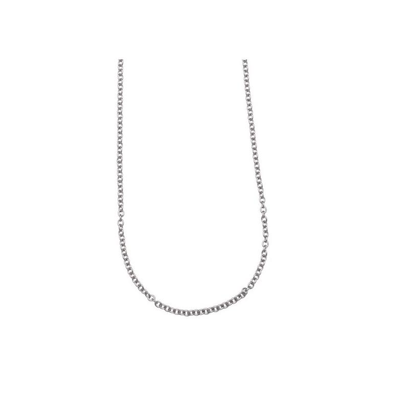 Steel chain 90 cm Steel Marlù