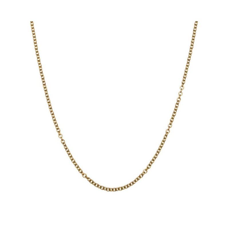 Steel chain 90 cm Gold Marlù