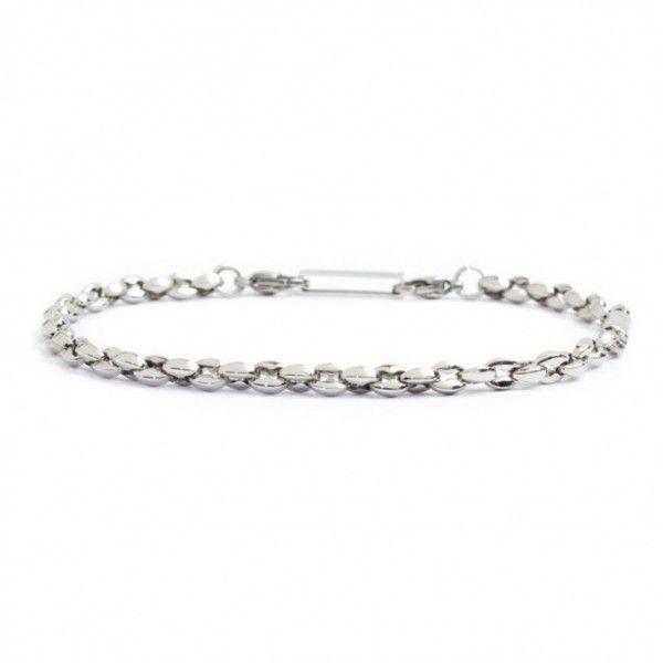 Marine chain steel bracelet Steel Marlù