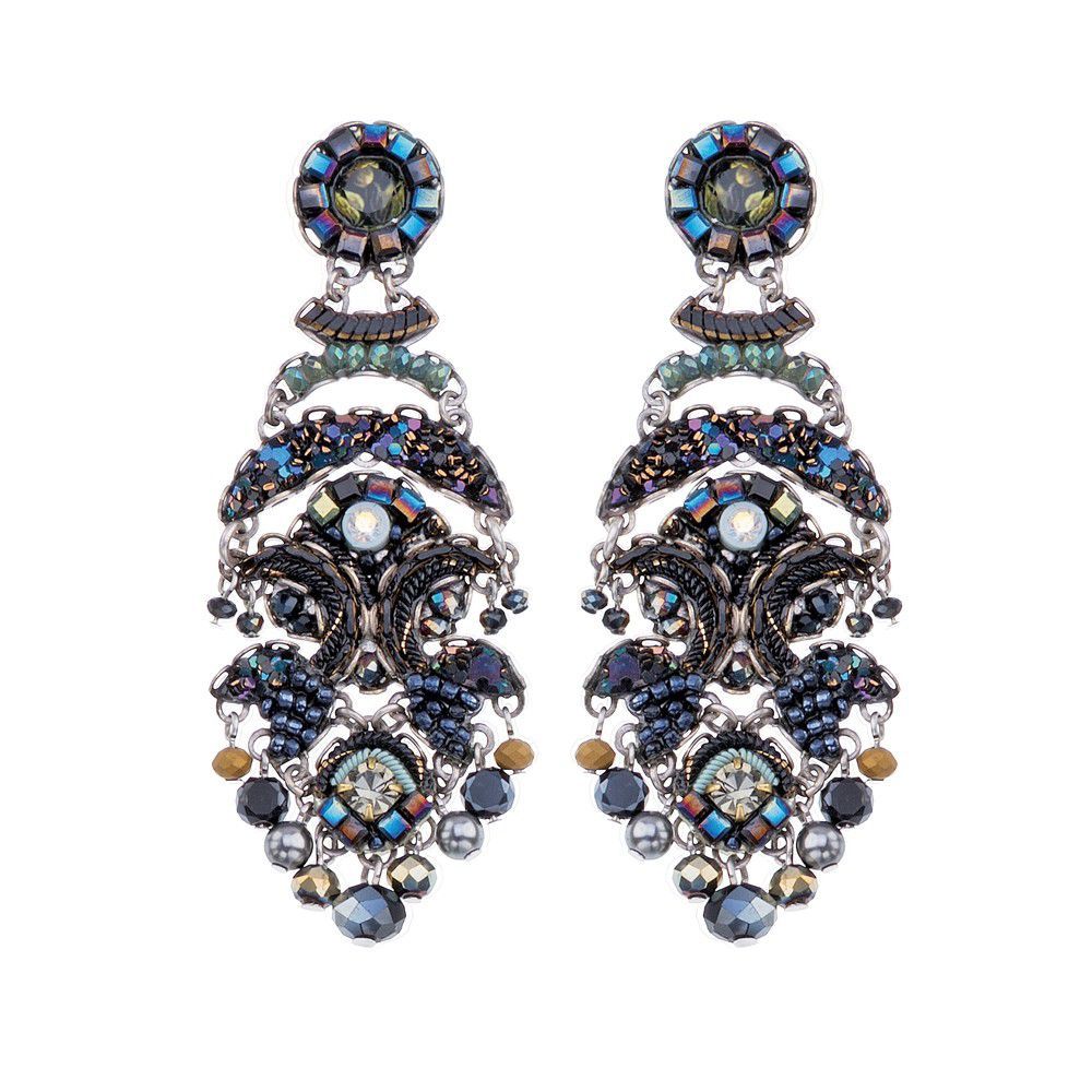 Festival Night, August Earrings Blue AyalaBar