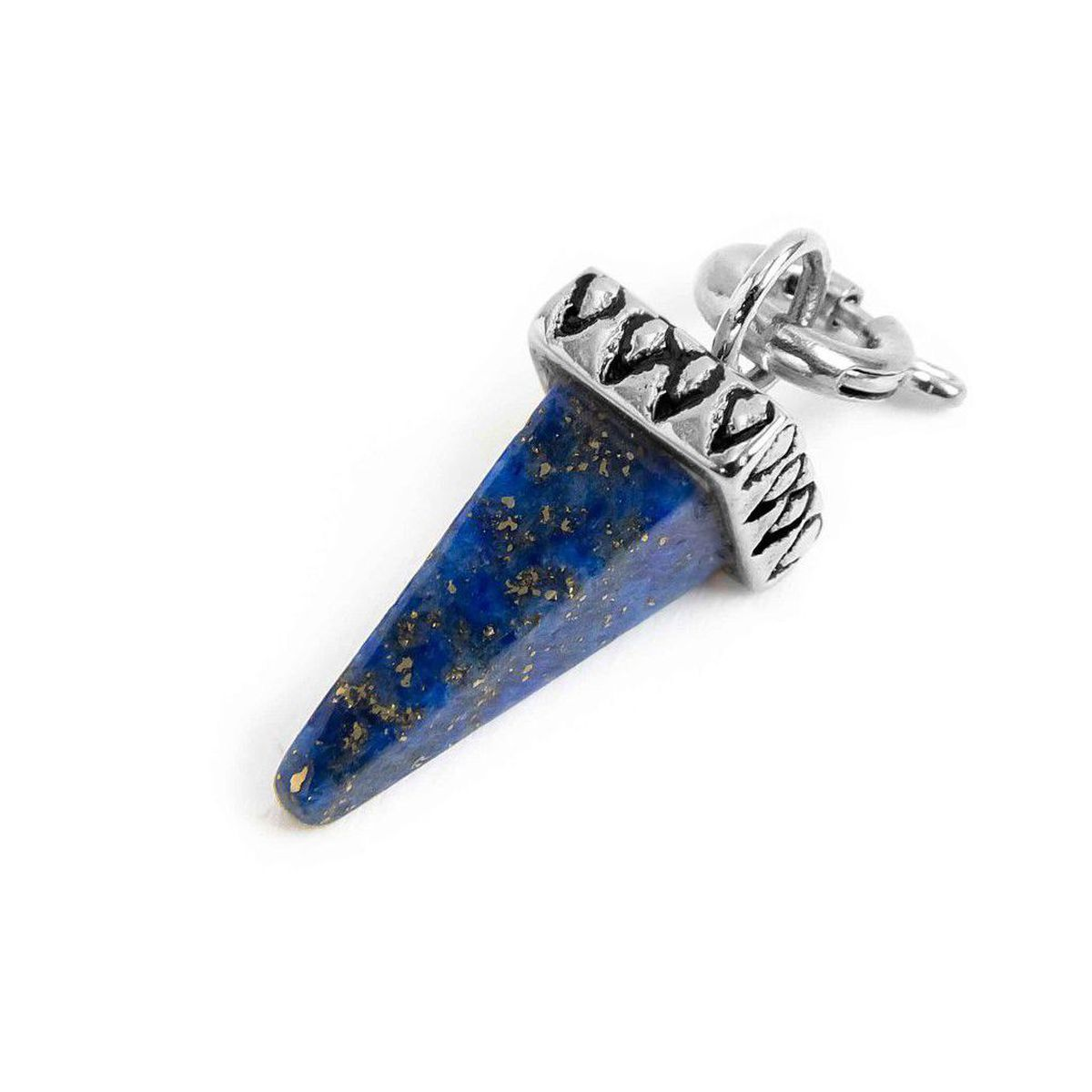 Charm steel spike lapis blue Steel Marlù