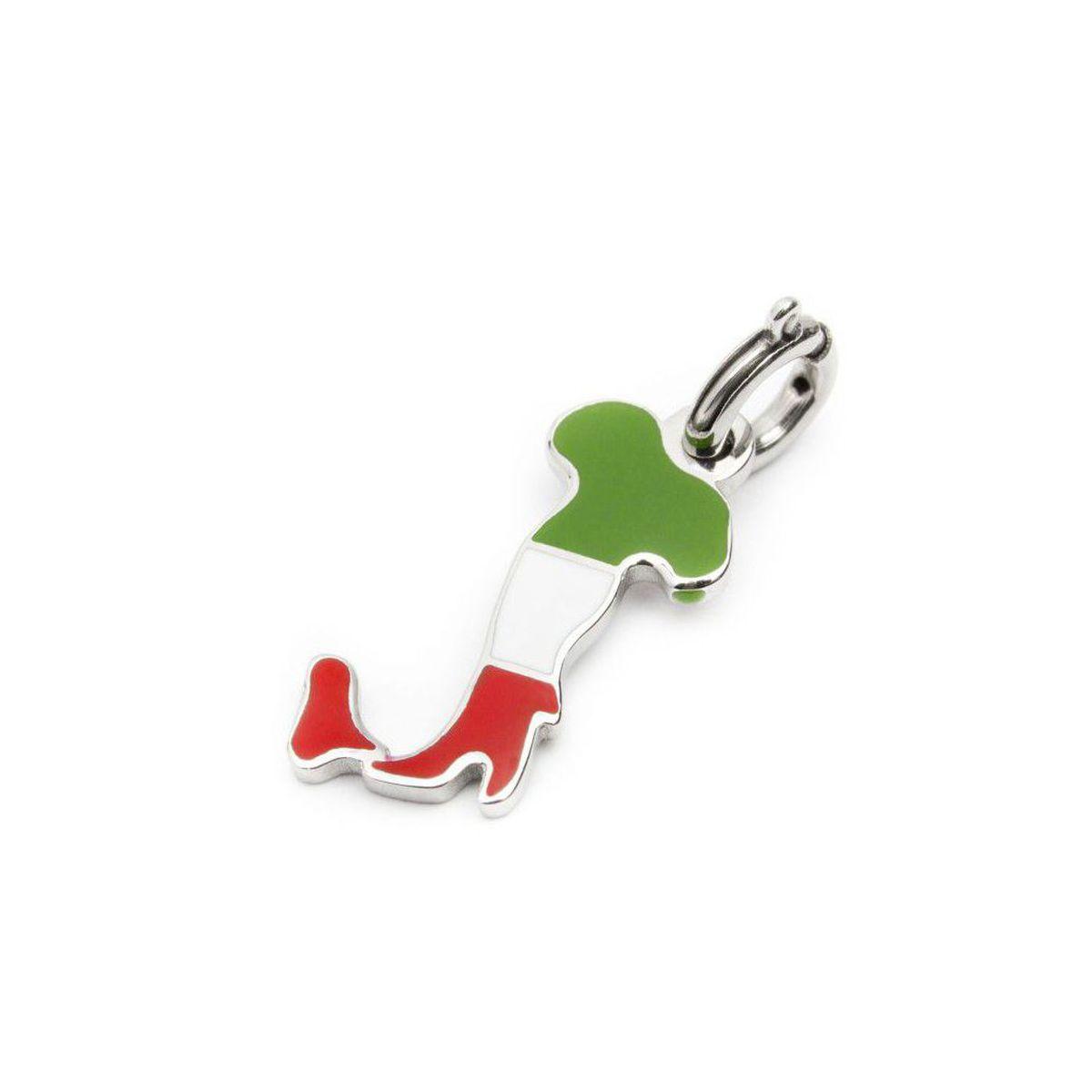 Charm Italy enamelled steel Steel Marlù