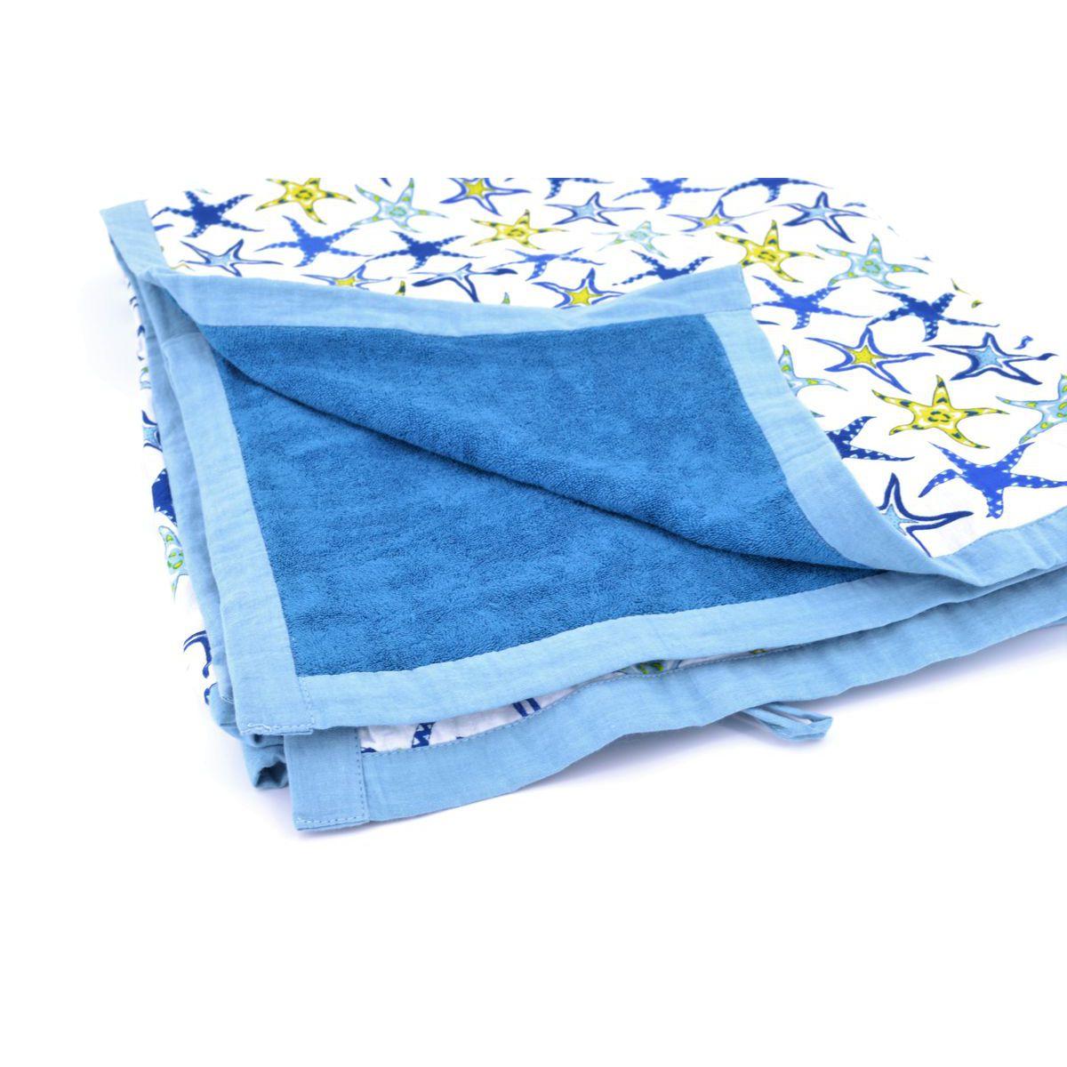Beach towel Starfish Blue BRASS Workshop