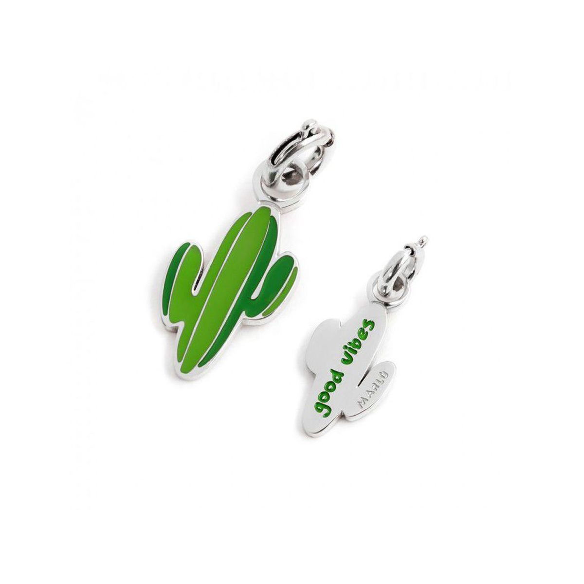 Colored cactus charm Steel Marlù