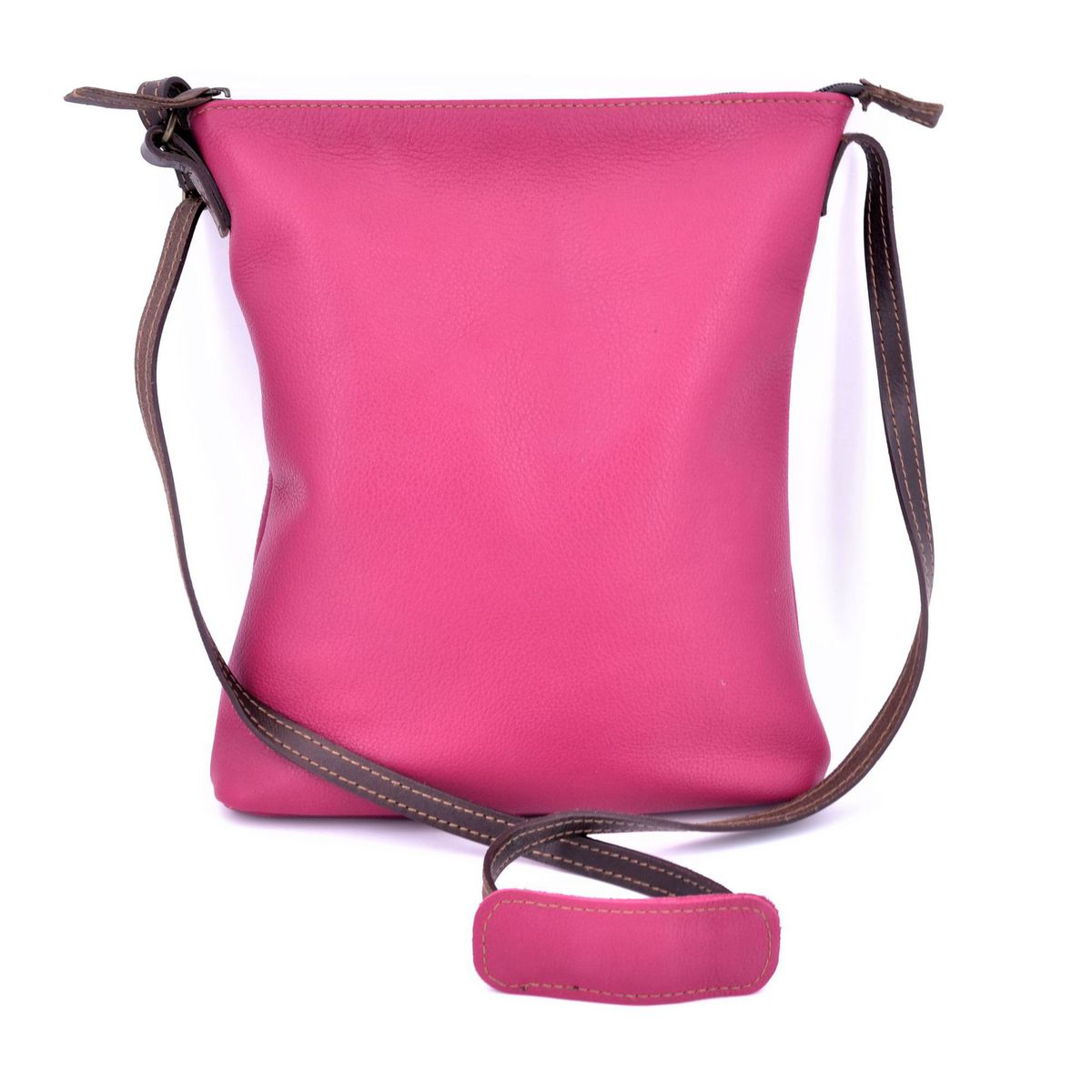 Morgado fuchsia leather bag Fuchsia BRASS Workshop