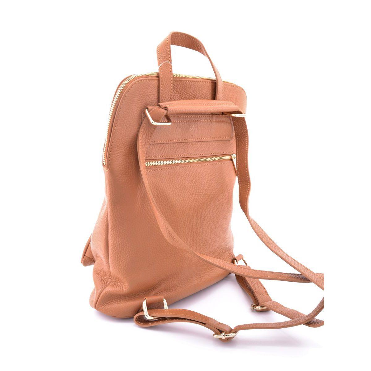 Leather backpack Task Brown BRASS Workshop