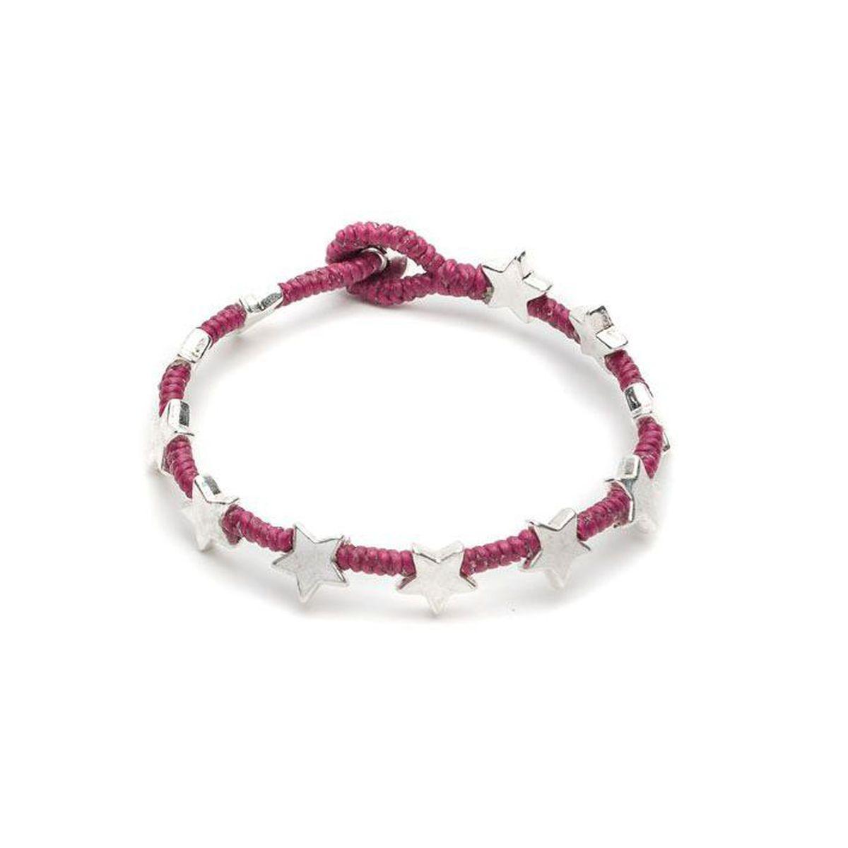New Flat star bracelet Rubino VestoPazzo