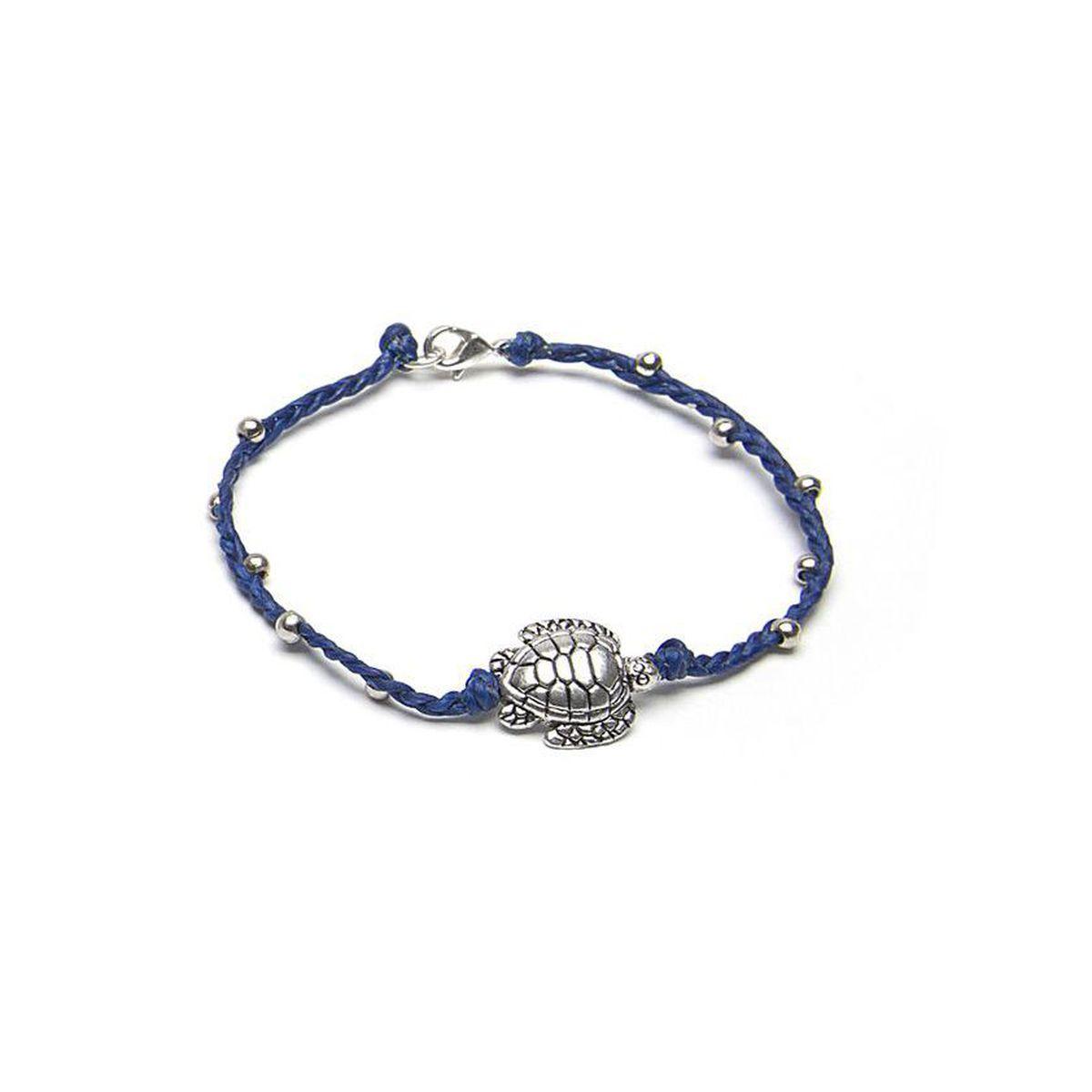 Engraved turtle, Bracelet Jeans VestoPazzo