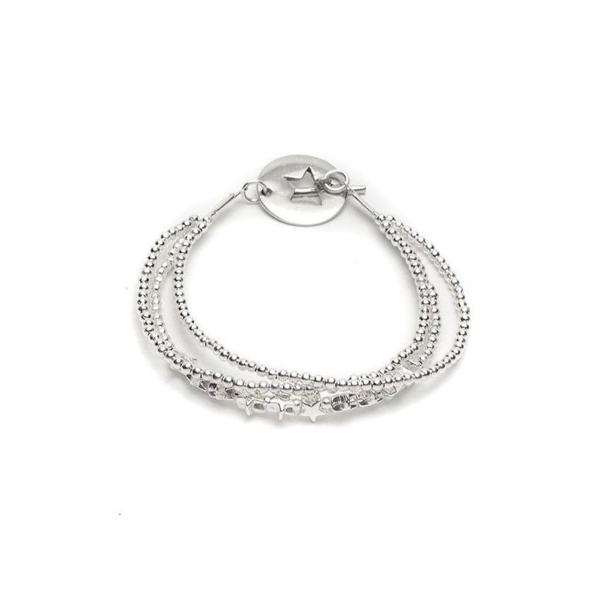 3-wire star bracelet Silver VestoPazzo