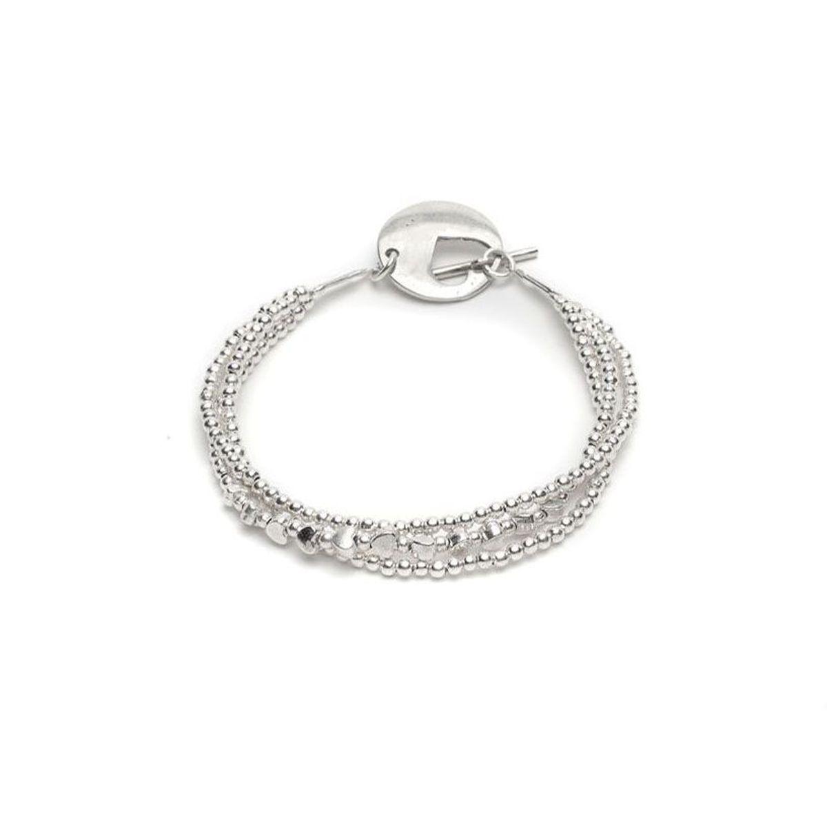 3-wire hearts bracelet Silver VestoPazzo