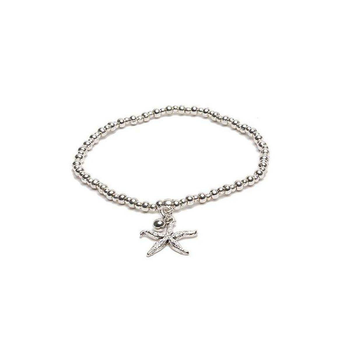 Elastic bracelet with starfish Silver VestoPazzo
