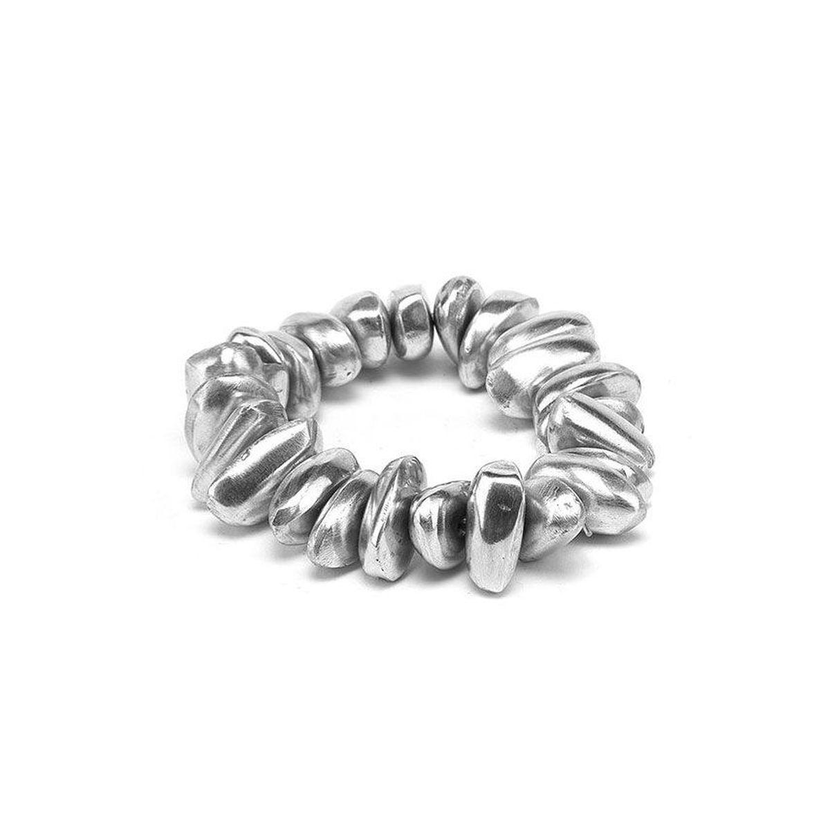100% aluminum elastic bracelet Alluminium VestoPazzo