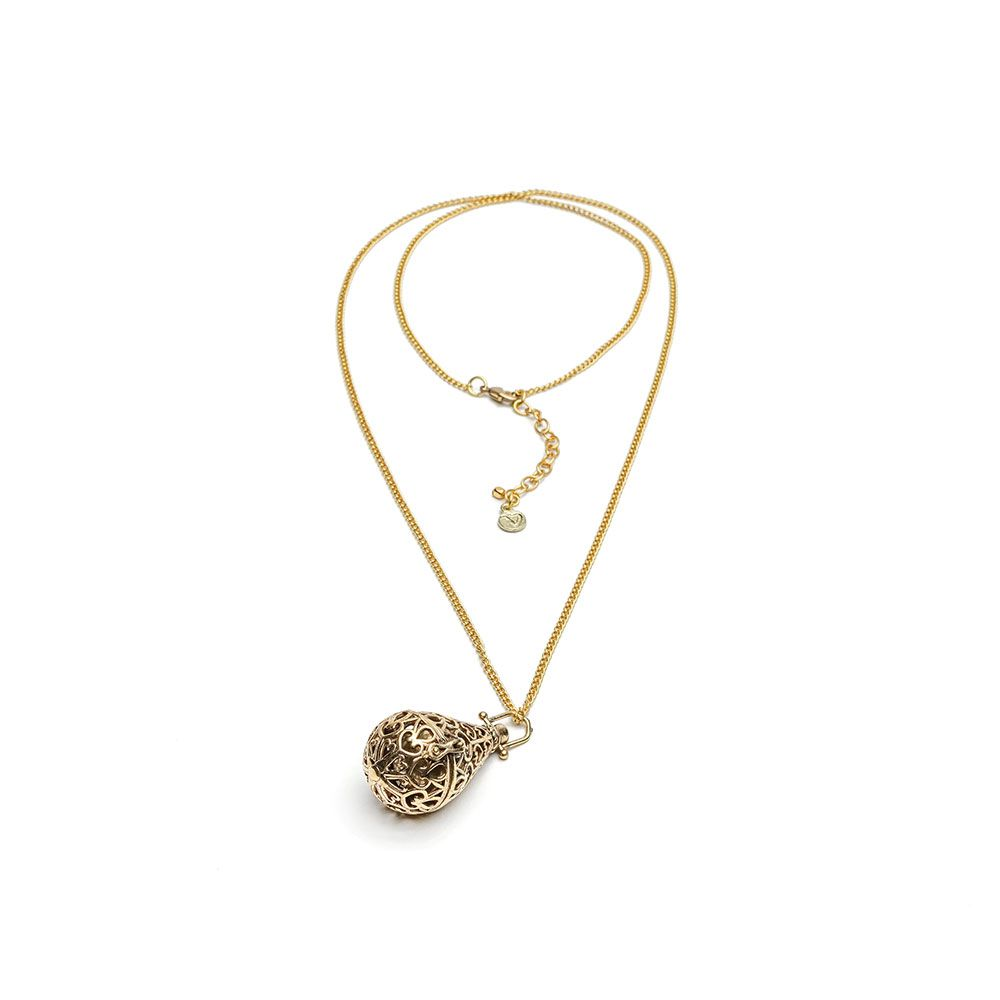 Calls angels drop, chain necklace Gold VestoPazzo