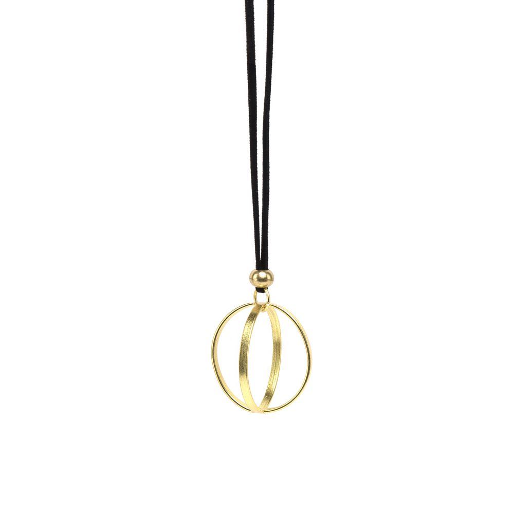 Sphere pendant necklace Gold VestoPazzo