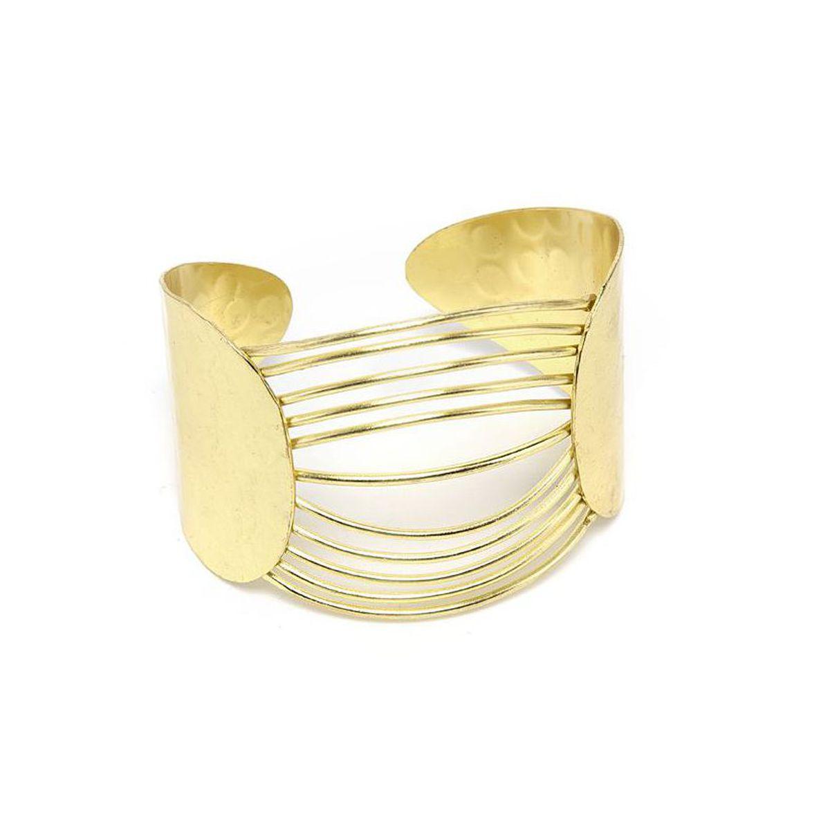 70's lines band bracelet Gold VestoPazzo