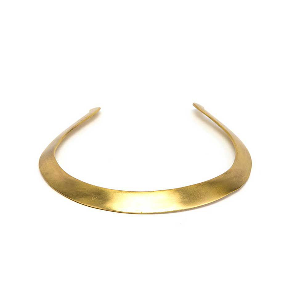 Rigid necklace Gold VestoPazzo