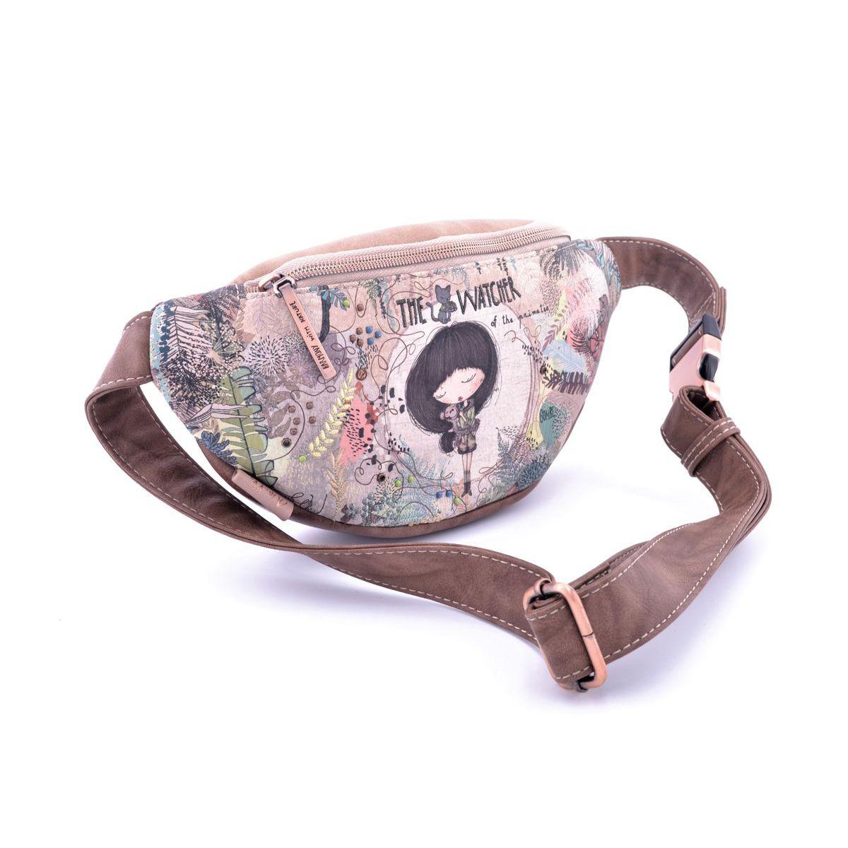 Belt bag Anekke AN30717-30JUC Beige BRASS Workshop