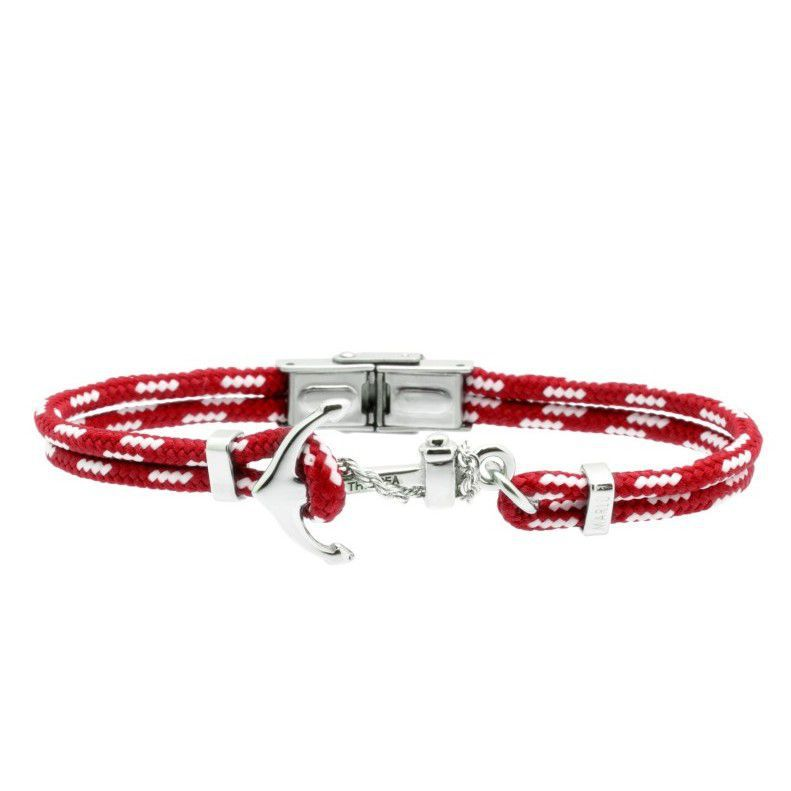 Anchor, Lanyard bracelet Red Marlù